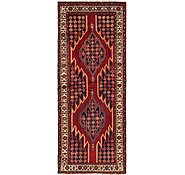 Link to 4' x 10' Mazlaghan Persian Runner Rug
