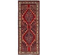 Link to 122cm x 305cm Mazlaghan Persian Runner Rug