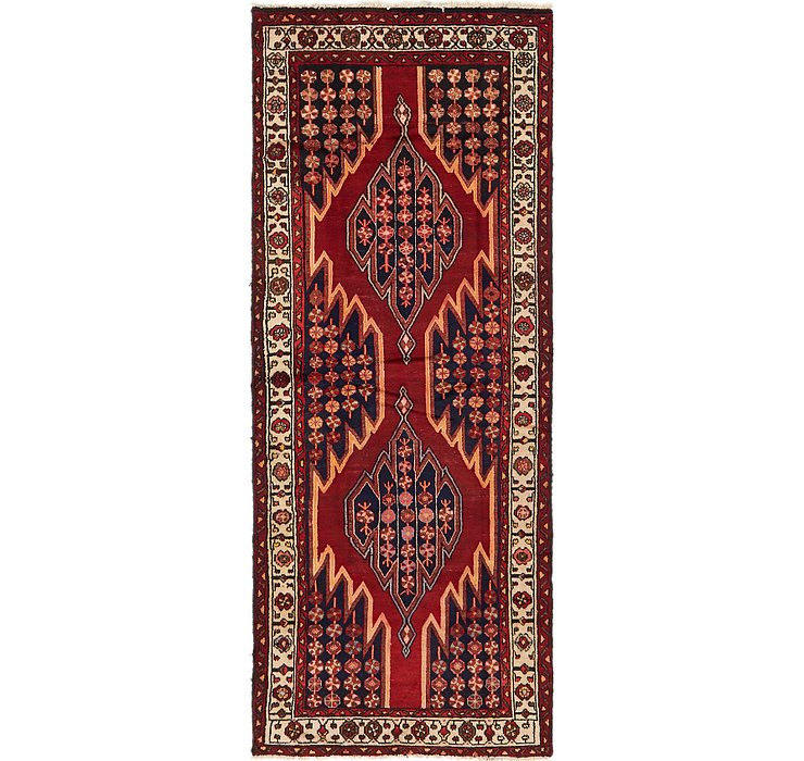 4' x 10' Mazlaghan Persian Runne...