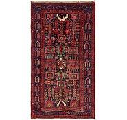 Link to 3' 10 x 7' 2 Hamedan Persian Runner Rug