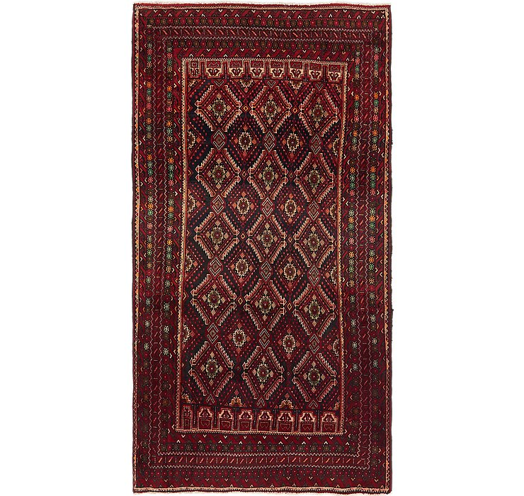 4' x 7' 10 Balouch Persian Runner ...