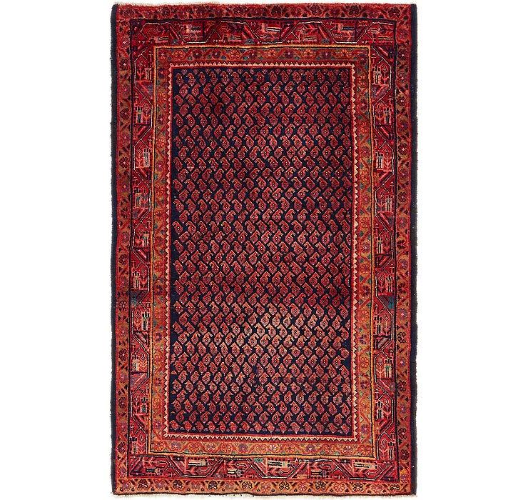 4' 3 x 7' Mahal Persian Rug