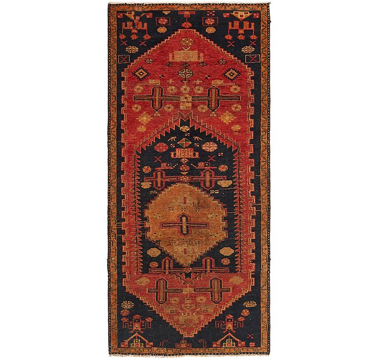 2' 5 x 9' 6 Mahal Persian Runner Rug