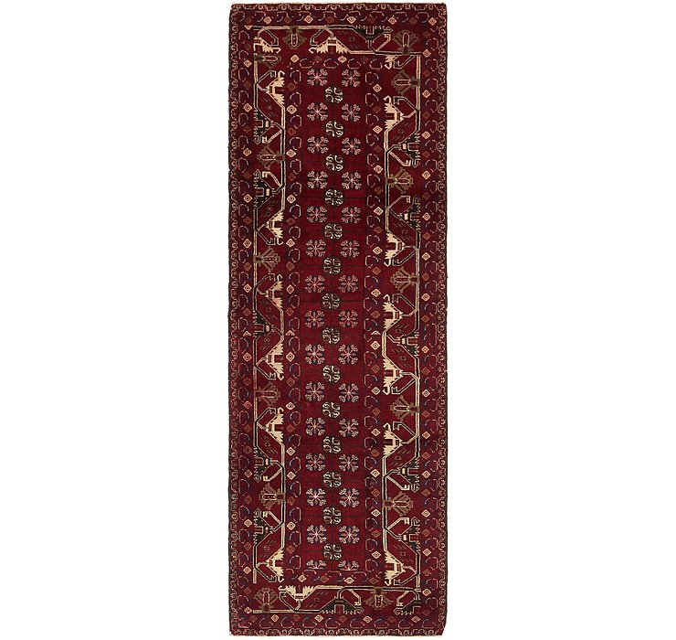 3' x 9' 9 Balouch Persian Runner ...