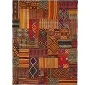 Link to 10' 2 x 13' 3 Kilim Patchwork Rug
