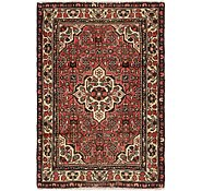 Link to 3' 4 x 5' Hossainabad Persian Rug