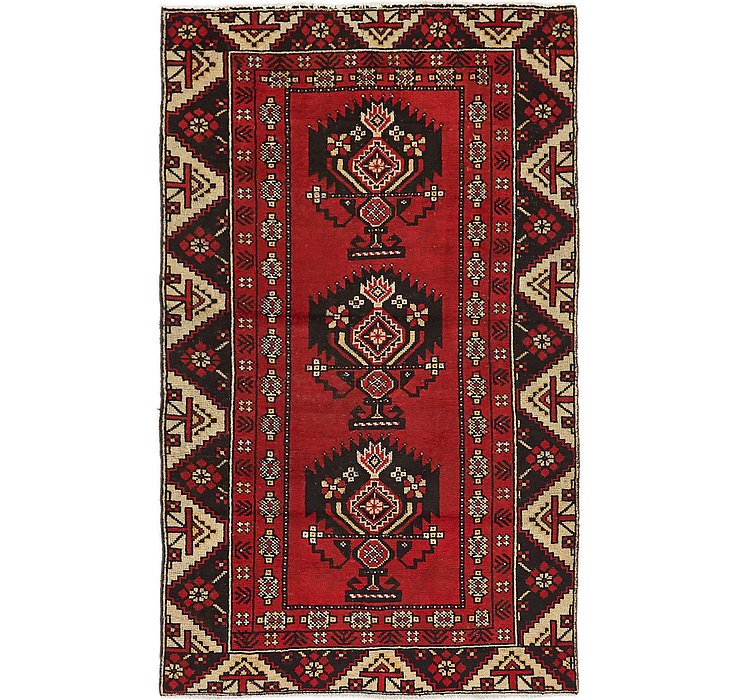 3' 7 x 6' 3 Ferdos Persian Rug