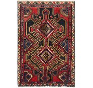 Link to 3' x 4' 6 Hamedan Persian Rug