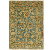 Link to 80cm x 117cm Over-Dyed Ziegler Rug