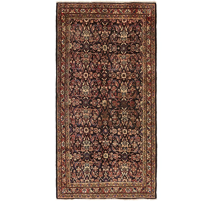 5' x 10' 6 Malayer Persian Runner ...