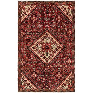 4' x 6' 6 Hamedan Persian Rug