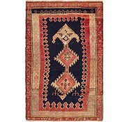 Link to 4' 6 x 6' 9 Hamedan Persian Rug