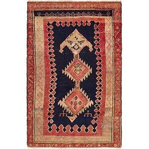 Unique Loom 4' 6 x 6' 9 Hamedan Persian Rug