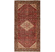 Link to 4' 9 x 10' Hossainabad Persian Runner Rug