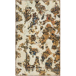 HandKnotted 3' x 5' 2 Ultra Vintage Persian Rug