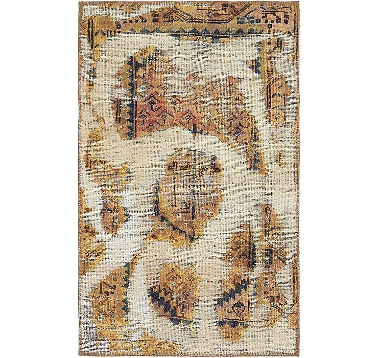 70cm x 110cm Ultra Vintage Persian Rug