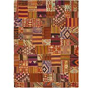 Link to 8' 5 x 11' 5 Kilim Patchwork Rug