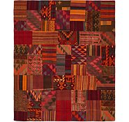 Link to 8' 2 x 9' 7 Kilim Patchwork Rug