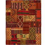 Link to 7' 10 x 9' 9 Kilim Patchwork Rug
