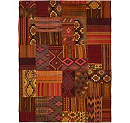 Link to 9' 8 x 13' Kilim Patchwork Rug
