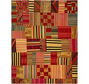 Link to 10' 3 x 12' 8 Kilim Patchwork Rug