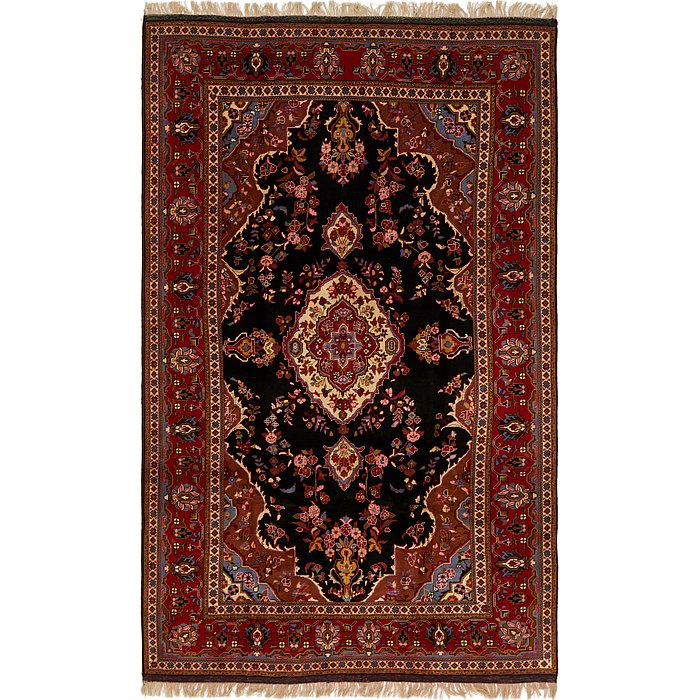 6' 6 x 10' 9 Ghoochan Persian Rug
