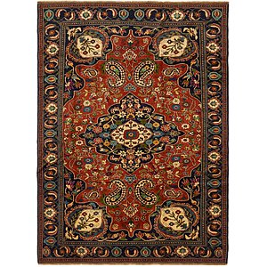 Link to 6' 7 x 9' 7 Ghoochan Persian Rug page