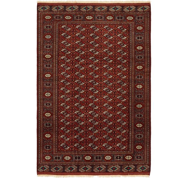 6' 8 x 10' 3 Bokhara Oriental Rug
