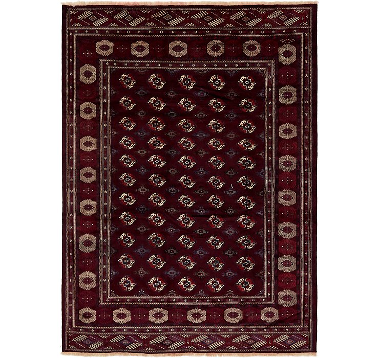 HandKnotted 9' 3 x 13' Bokhara Oriental Rug