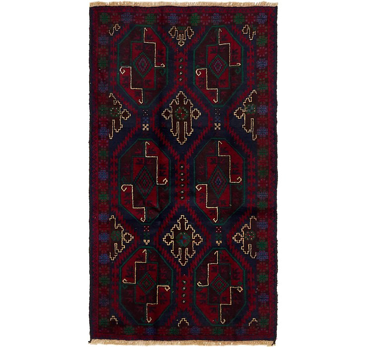 3' 5 x 6' 7 Balouch Persian Rug