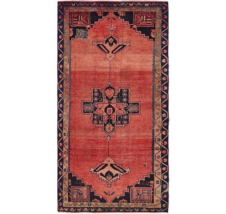 4' 7 x 9' 4 Shiraz Persian Runner Rug