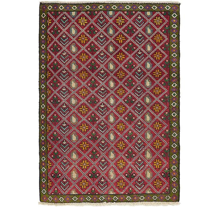 3' x 4' 5 Tabriz Persian Rug