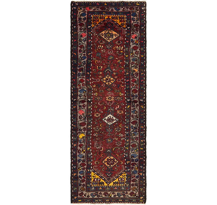 3' 5 x 9' Hamedan Persian Runner ...
