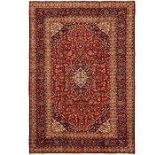 Link to 9' 10 x 14' 2 Kashan Persian Rug