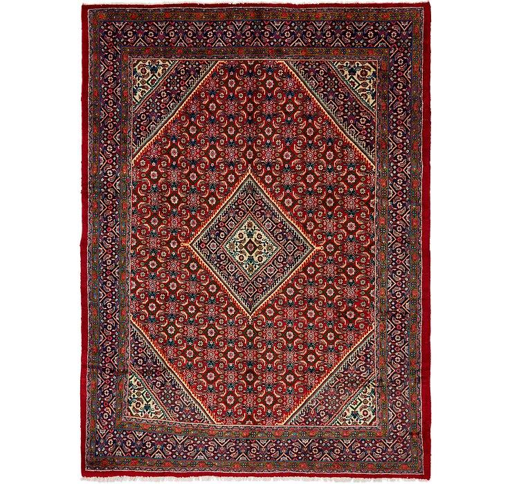 9' 10 x 13' 3 Mahal Persian Rug