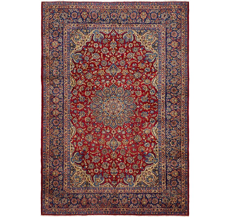 9' 5 x 14' Isfahan Persian Rug