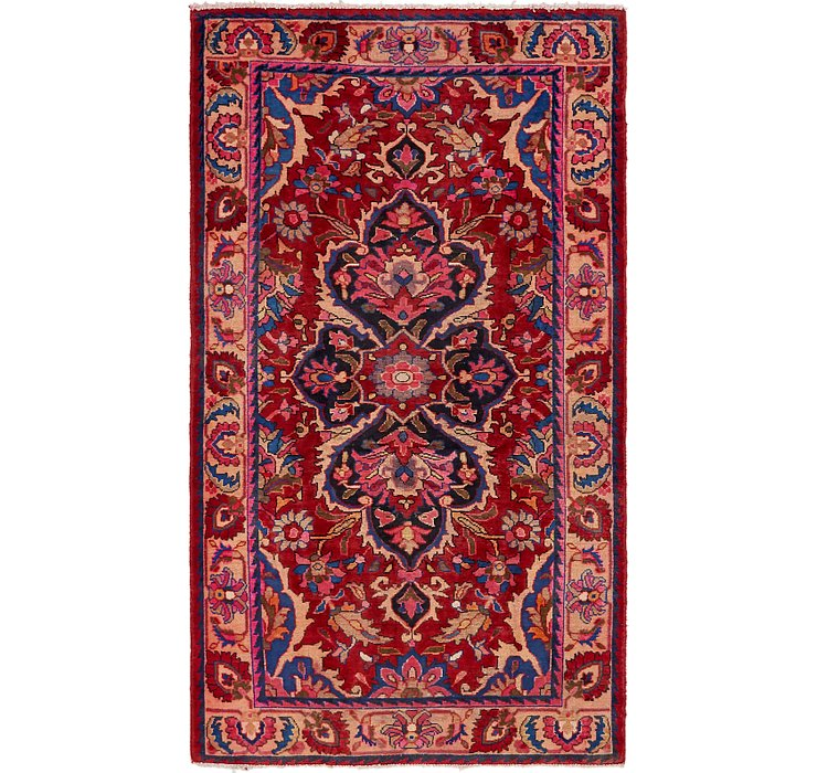 HandKnotted 4' 6 x 7' 10 Borchelu Persian Rug