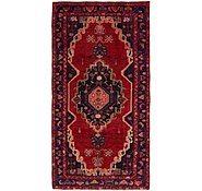 Link to 4' 7 x 9' 3 Khamseh Persian Runner Rug