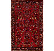 Link to 4' 4 x 7' Hamedan Persian Rug