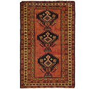 Link to 122cm x 208cm Shiraz-Lori Persian Rug