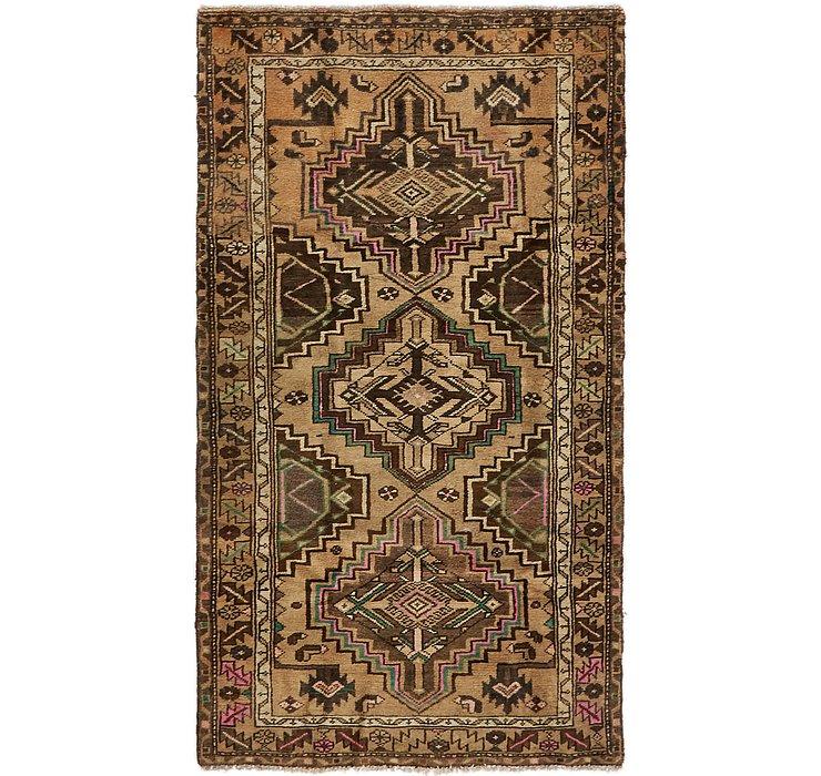3' 10 x 6' 9 Hamedan Persian Rug