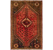Link to 147cm x 225cm Shiraz-Lori Persian Rug