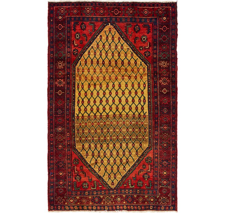 4' 3 x 6' 7 Songhor Persian Rug