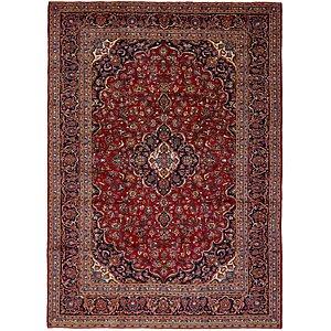 9' 8 x 13' 4 Kashan Persian Rug