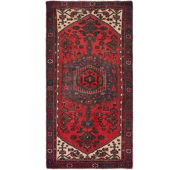 3' 8 x 7' Hamedan Persian Rug