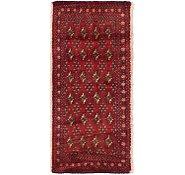 Link to 1' 7 x 3' 6 Torkaman Persian Rug