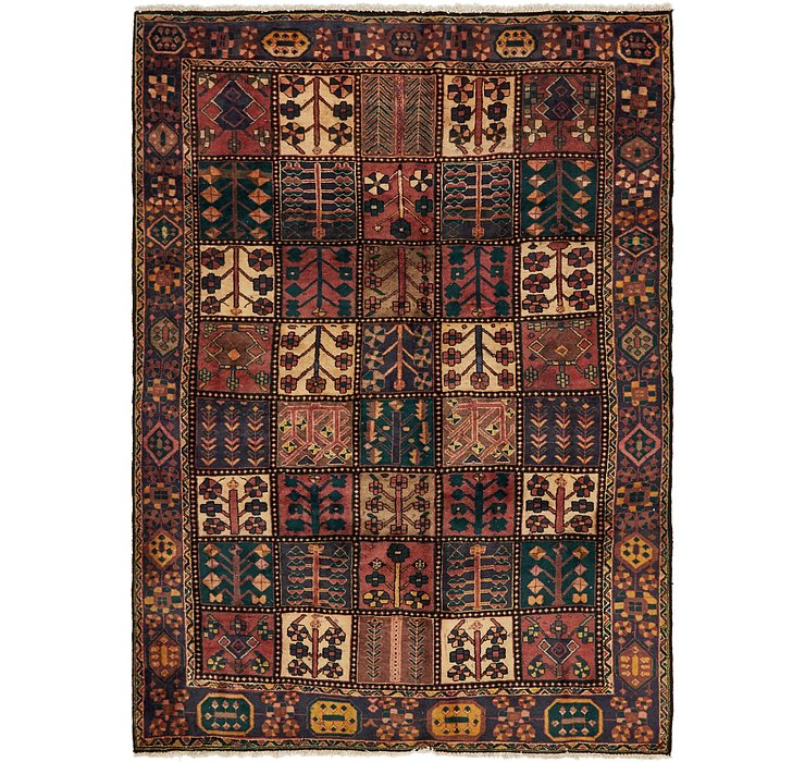 6' 10 x 9' 4 Bakhtiar Persian Rug