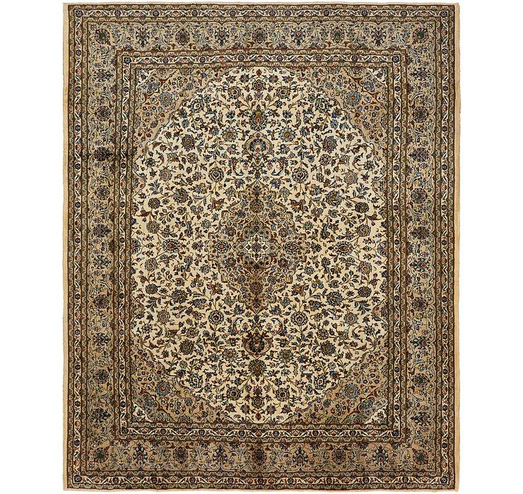 295cm x 370cm Kashan Persian Rug