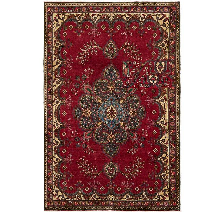 5' 7 x 8' 9 Tabriz Persian Rug