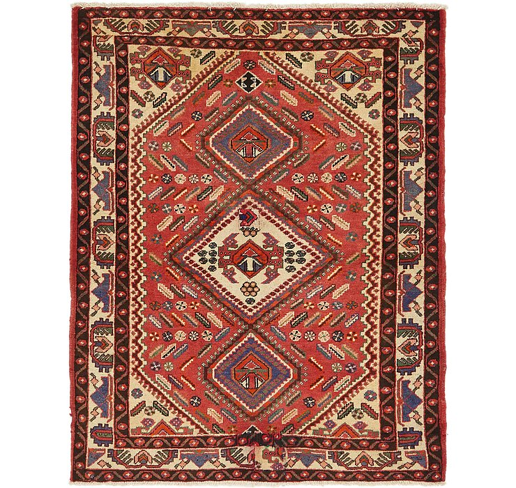 4' 10 x 6' 5 Bakhtiar Persian Rug